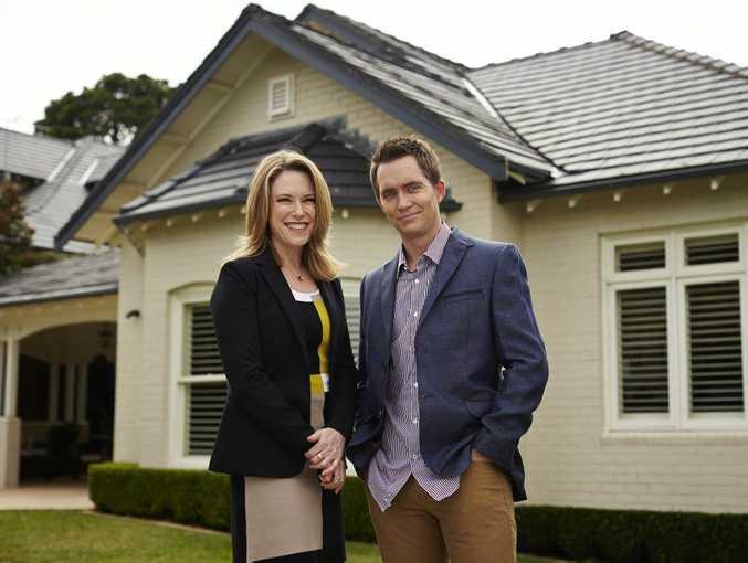 Veronica Morgan and Bryce Holdaway host the TV series Location, Location, Location Australia.