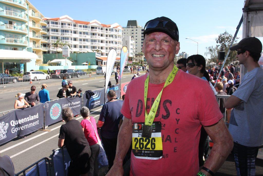 Sunshine Coast Marathon and Community Run Festival. Pictured: Celebrity chef Matt Golinski. Photo Kristy Muir / Sunshine Coast Daily