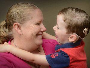 Deafness a shock to mum