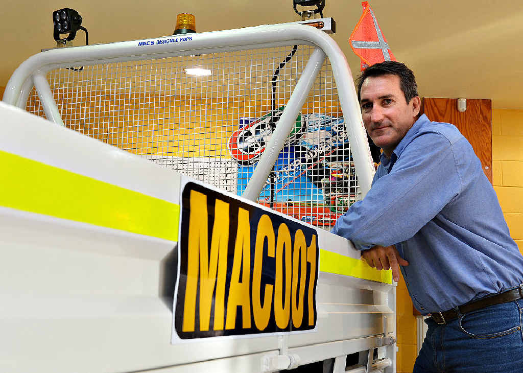 Mac's Engineering director Simon Mortess said diversification and a quick response were keeping the Mackay business powering forward in tough times.