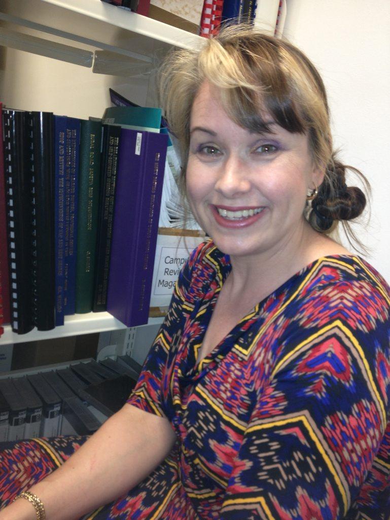 University researcher Dr Bridie Scott-Parker