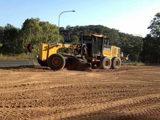 The best way to get a job in earthmoving is to start off small and work your way up.