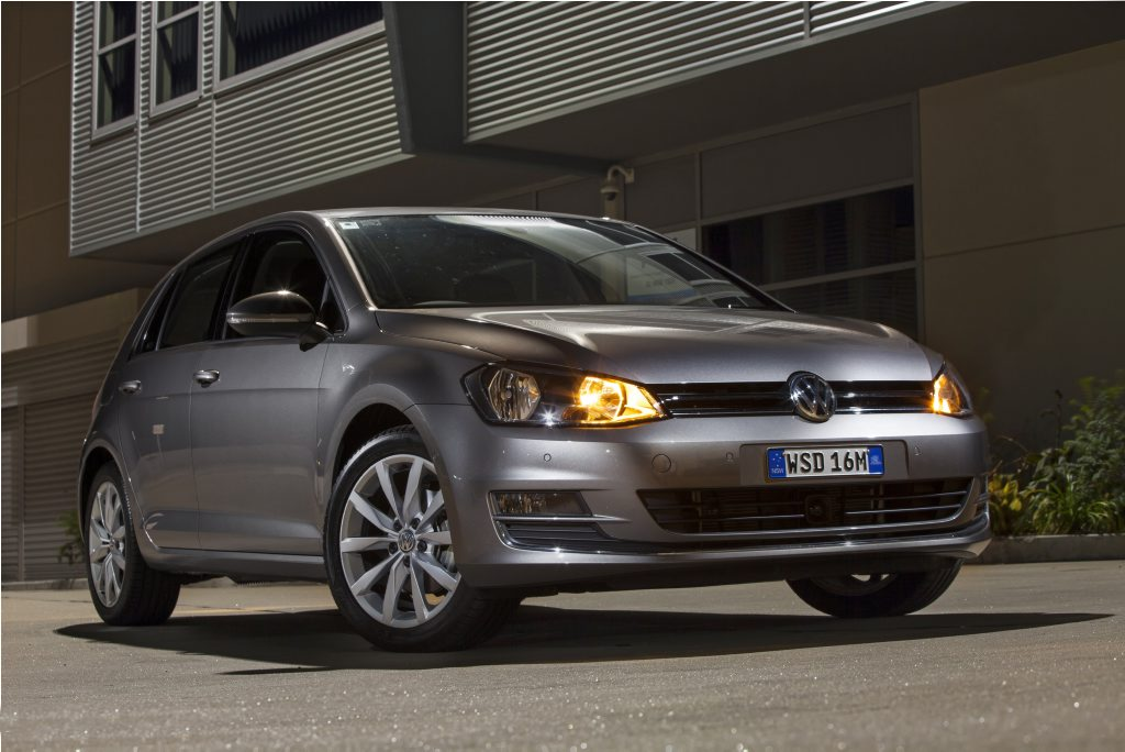 The VW Golf Mk7.