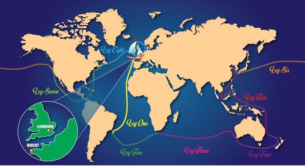 Clipper Round the World. Illustration APN