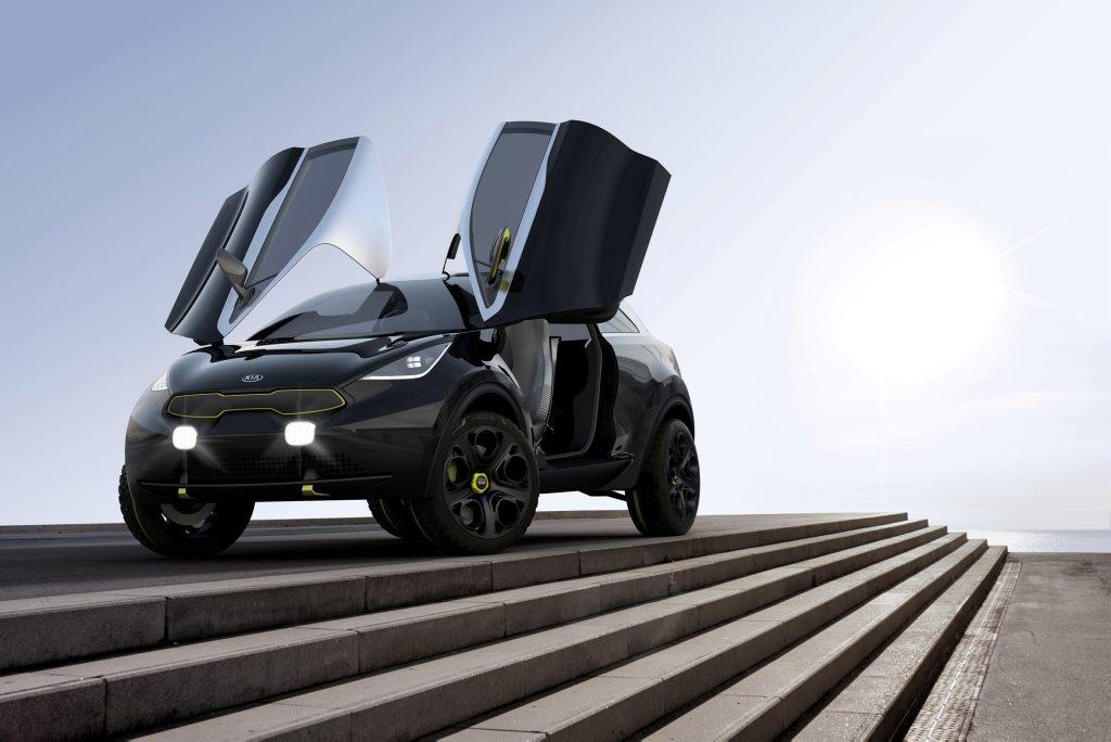 The Kia Niro concept.