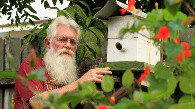 Beekeeper Joe Tinson says there's still not a lot of people learning how to farm them.