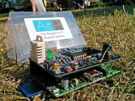 Check out A-level students Dayan and Hartley, who have put together a fully functional weather and air-quality device.