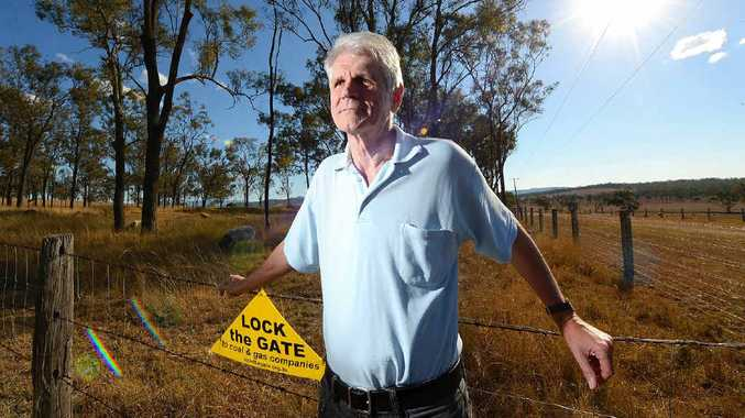 AUTHOR: Activist, academic, campaigner and Lock the Gate Alliance founder Drew Hutton has written a book on the effects of coal mining.