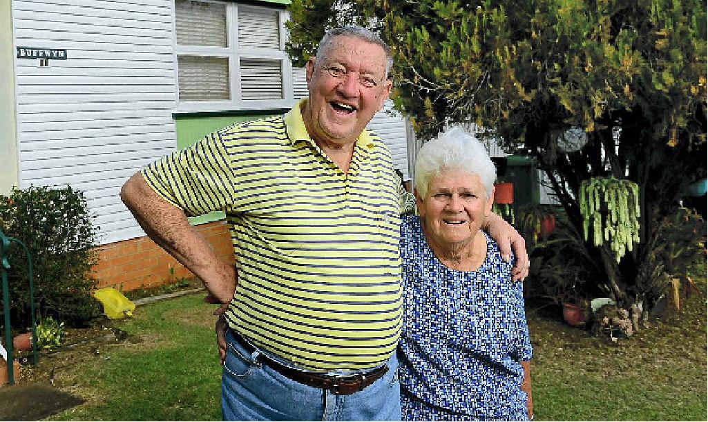 50TH YEAR: George and Thelma Martin of Silkstone.