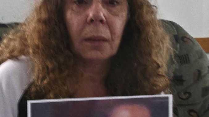 Donna Geoghagan with a photo of Jasmine Morris.