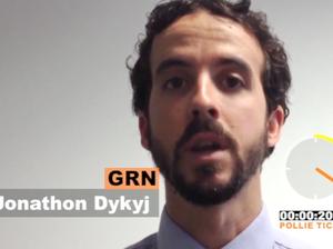 Dawson candidate Jonathan Dykyj