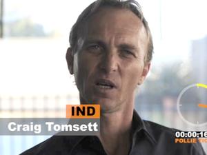 Flynn candidate Craig Tomsett
