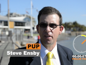 Flynn candidate Steve Ensby