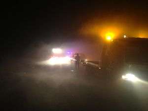 Bruce Hwy reopens following smokey start to day
