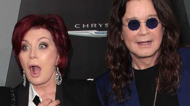 Celebrity couple Sharon and Ozzy Osbourne will celebrate New Year in bed, after hosting friends and family for an early dinner on New Year's Eve