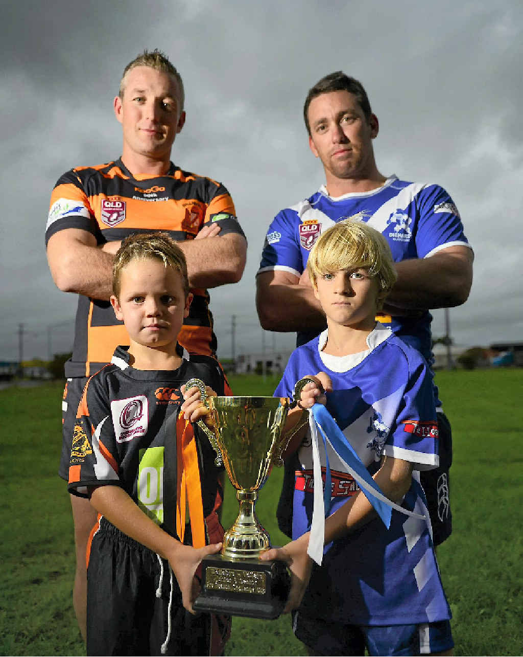 Wallabys and Valleys played in last year's grand final, and the two teams will meet again in this year's clash as the rivalry continues.