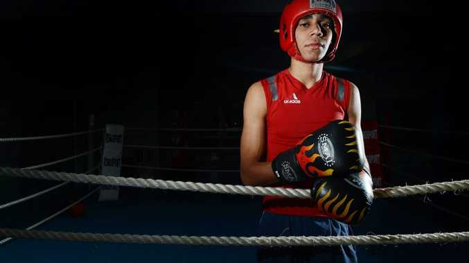 Maloney's Glove Club Boxer Jade Cook from Goonellabah. Photo Patrick Gorbunovs / The Northern Star