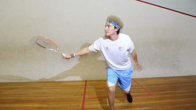 Cameron Pilley's journey towards a Commonwelth Games medal haul began on his home court at Yamba.