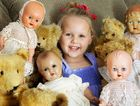 HOBBY ACROSS GENERATIONS: Bella Leverton is preparing for the Ipswich, Doll, Bear and Craft Fair at the Ipswich Civic Centre on September 8.