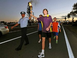 Flame burns for Special Olympics