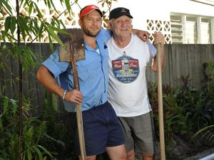 Father and son accidentally dig up WWII grenade in backyard