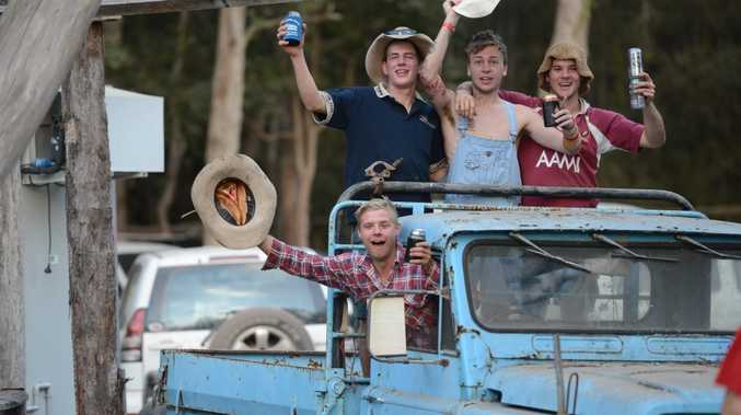 The boys loose at the Muster Gympie Muster 2013 Sunday Photo Craig Warhurst / The Gympie Times
