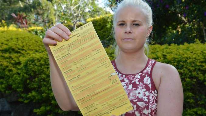 Bianca Visintin believes her infringement notice is unfair. Photo: Warren Lynam / Sunshine Coast Daily