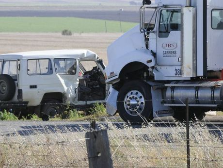 This morning's double fatal west of Toowoomba.