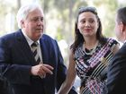 Clive Palmer with his wife Anna. FILE
