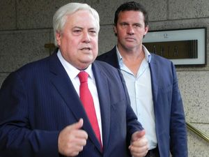 Clive Palmer jumps on Dorothy Dixer on Q&A to slam AEC