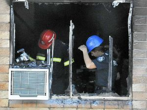 Man hailed a hero after saving resident from burning flat