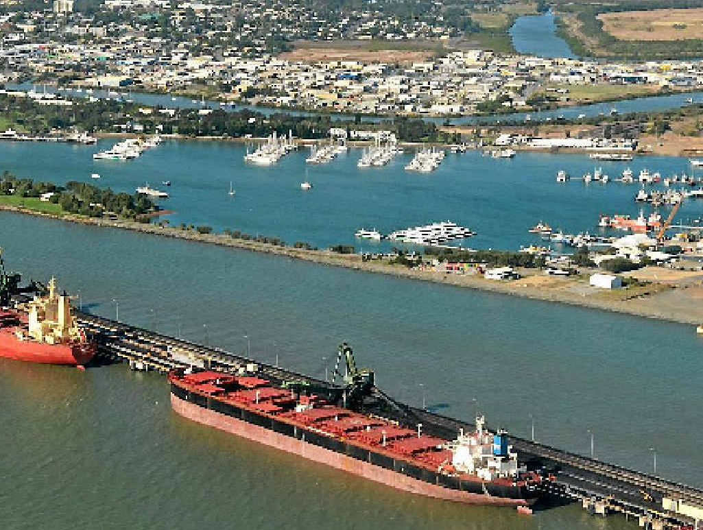 DEBATE: Gladstone Harbour is the lifeblood of the district and centre of environmental controversy.