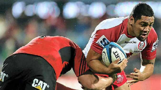 LATE CALL-UP: Queensland Reds front-rower Albert Anae almost missed his chance to train with the Wallabies after missing a call from new coach Ewen McKenzie.
