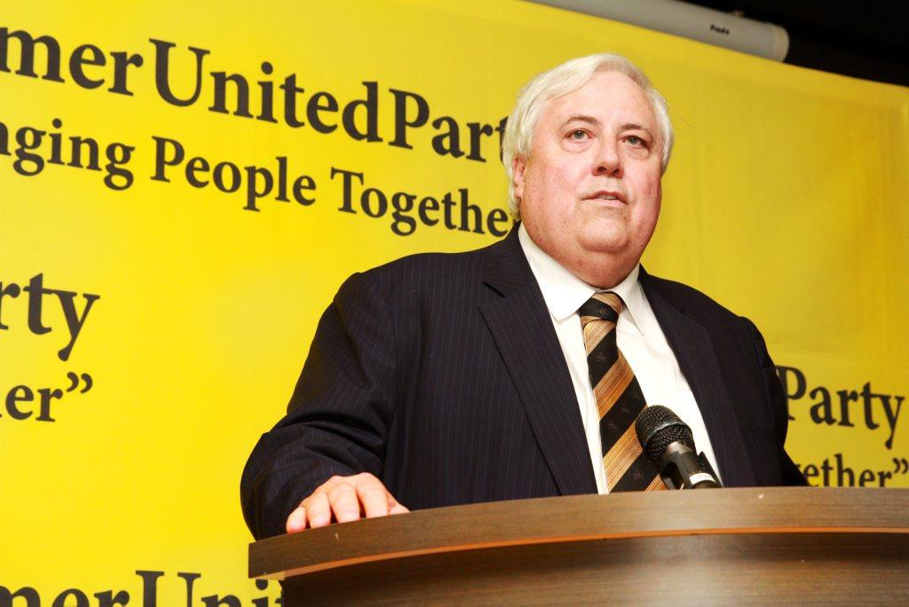 Clive Palmer.