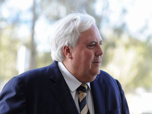 Leader of the Palmer United Party, Clive Palmer on the Fraser Coast. Photo: Robyne Cuerel / Fraser Coast Chronicle