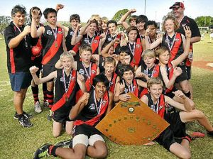 Ballina's junior Bombers jubilant in victory