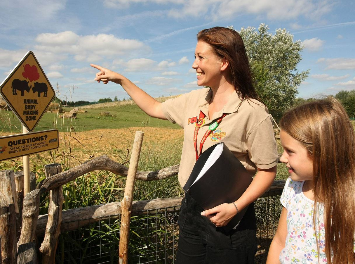 Chessington World of Adventures hires 'Birds and the Bees' Consultant, Lisa Britton, following a recent baby boom at the park