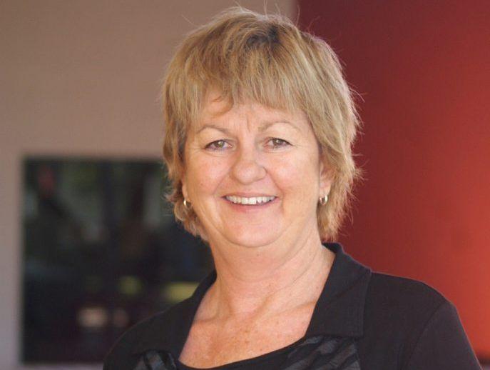 Mayor Anne Baker.