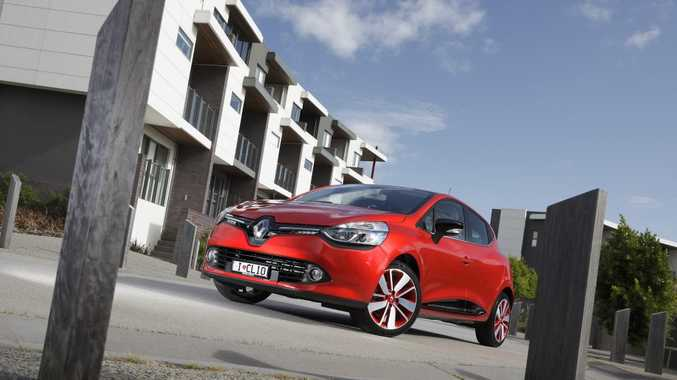 The new Renault Clio in range-topping trim.