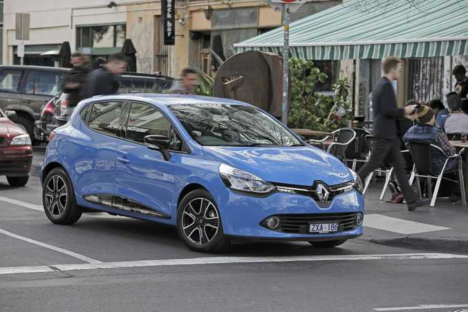 The groovy new Renault Clio.