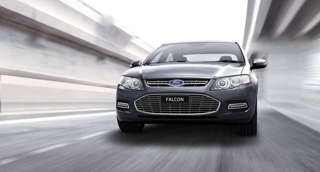 The Ford Falcon sales slumped further in August.