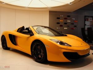 McLaren MP4-12C Spider has some serious bite