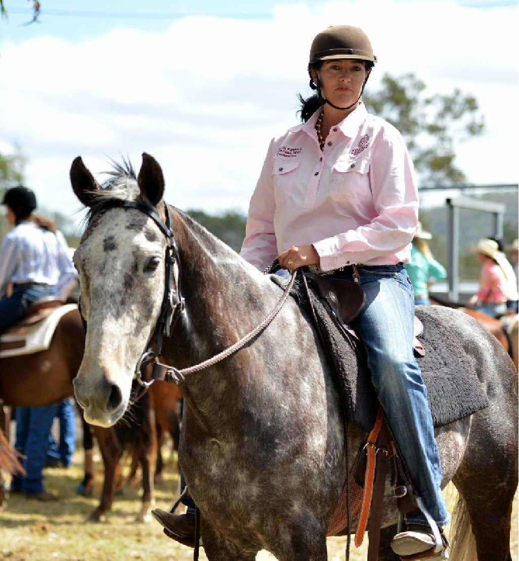 GREAT STUFF: Kilkivan local Sharon Durre from Kaylee Park on Replay.
