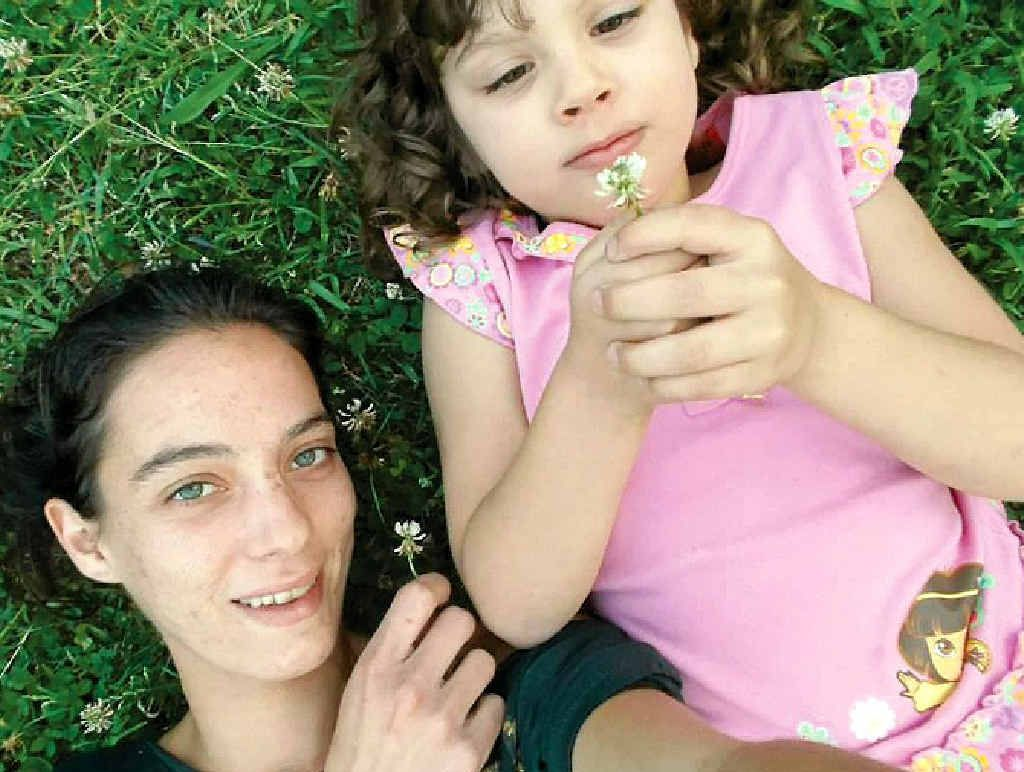 TRAGIC LOSS: Mother and daughter Ivy and Bella-Mae Bowden were killed in a car crash at Wollongbar last Friday .