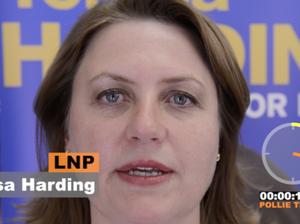 Blair candidate Teresa Harding