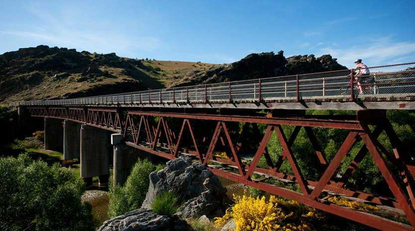 The Otago Central rail trail is one example of a global success story, attracting 750,000 visitors a year. Photo: Trail Journeys