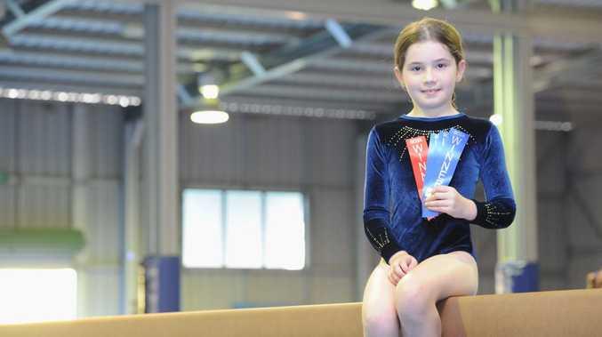 Wide Bay Gymnastics Club - Courtney Clark.
