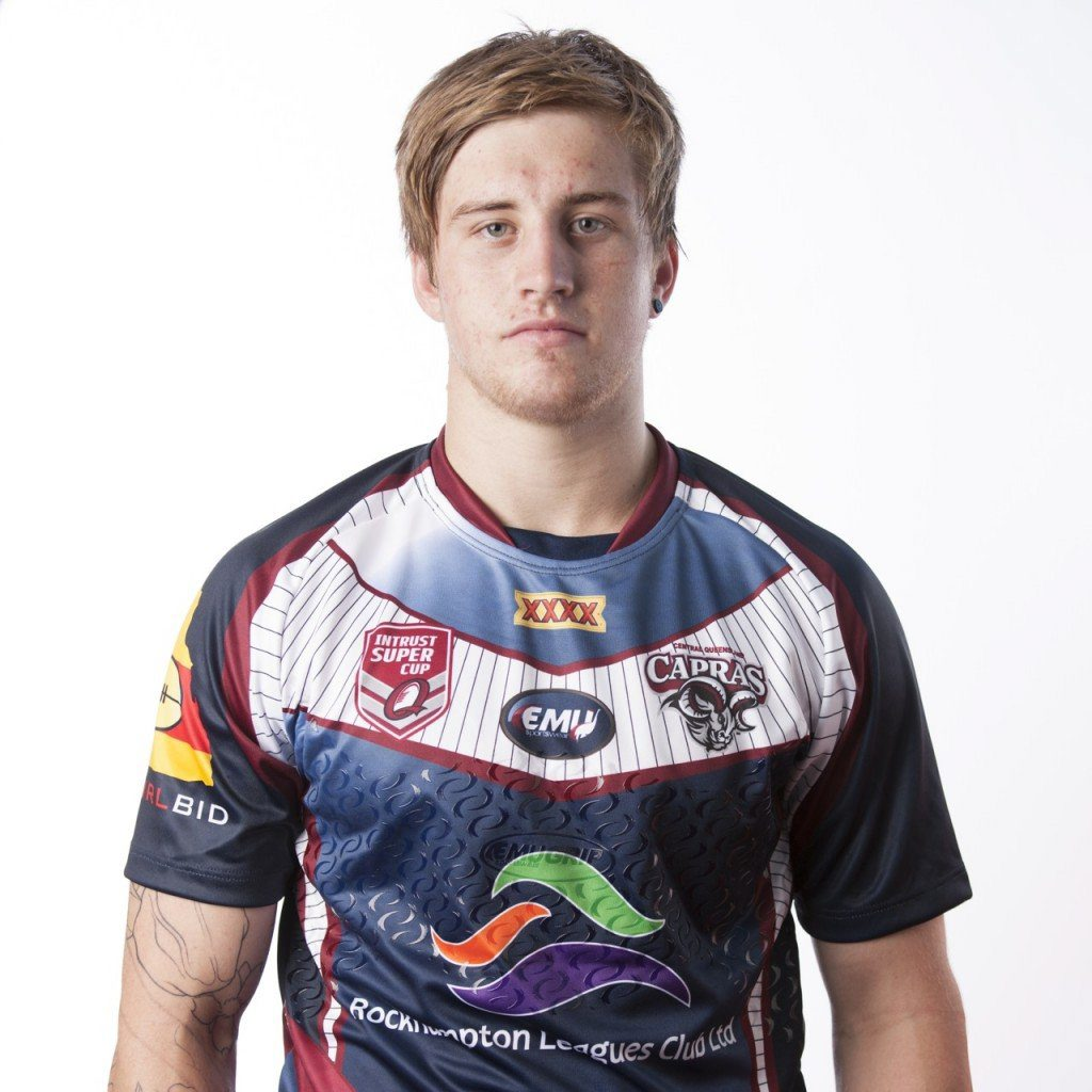 Central Queensland Capras fullback Cameron Munster.