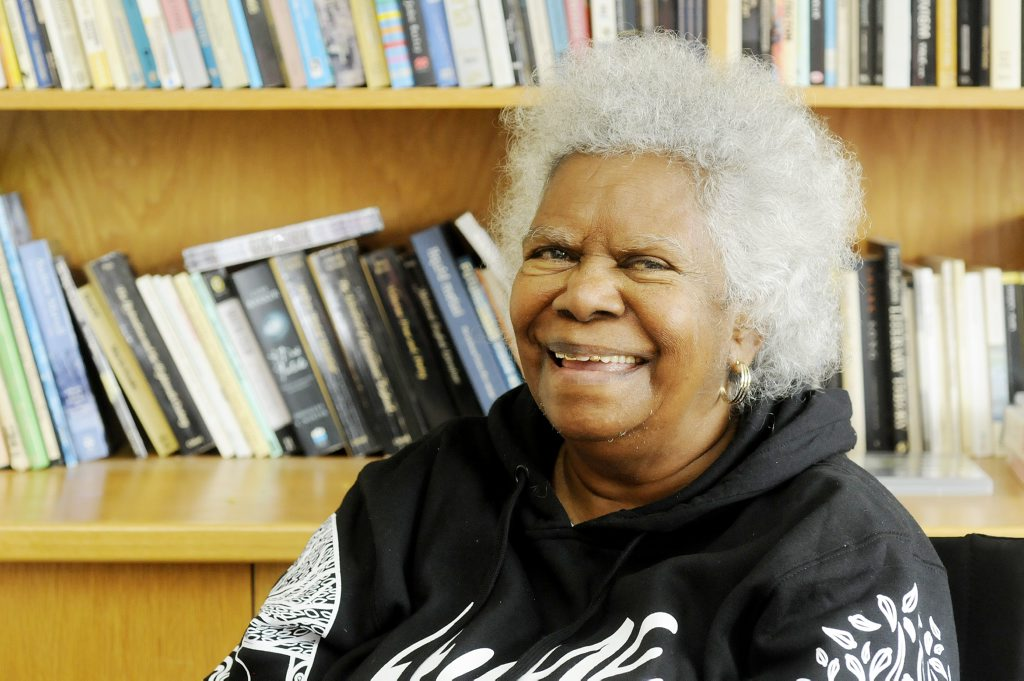 Image for sale: Aboriginal activist Bonita Mabo, wife of Eddie Mabo, was guest speaker at Southern Cross University for the Fusio Festival. Photo Doug Eaton / The Northern Star