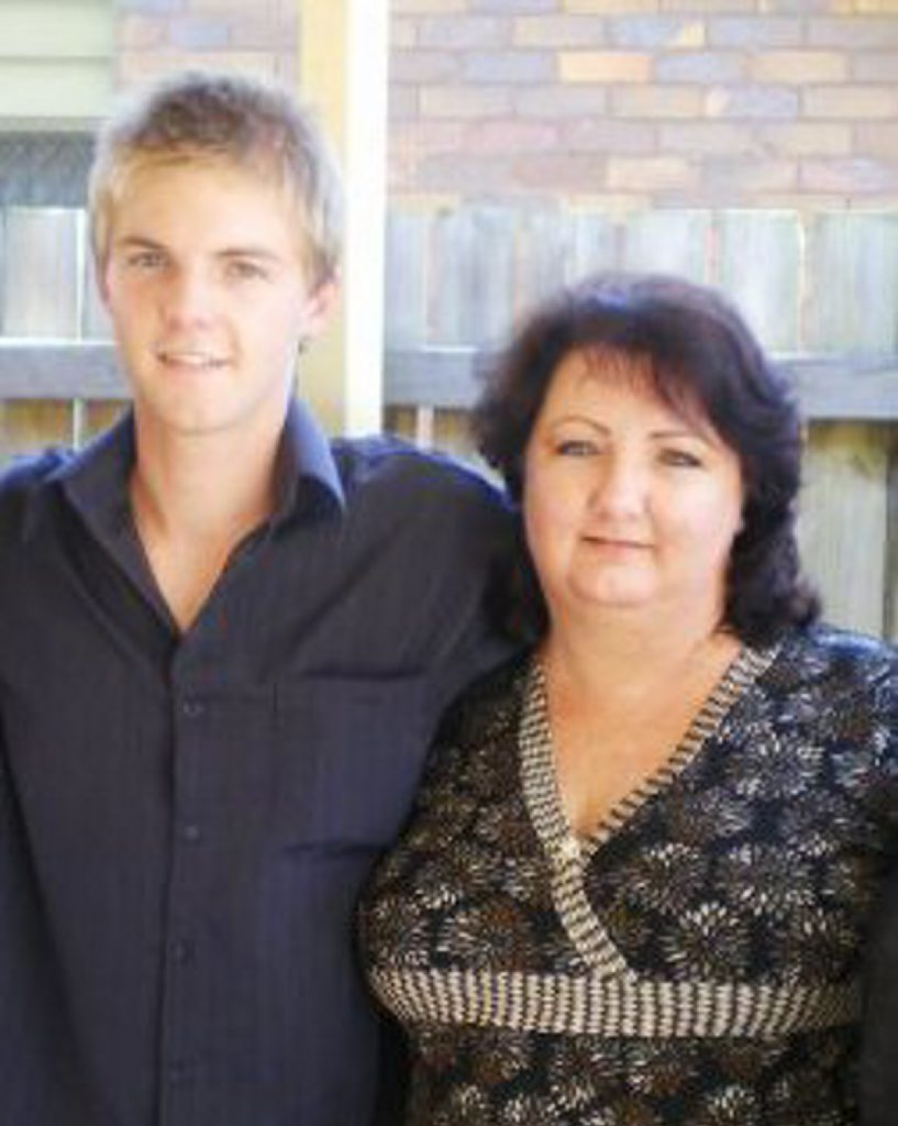 Corey James Lovell and his mother Samantha Ann Brownlow are accused of murdering Robin Behrendorff in his Burnett Heads home in 2011.